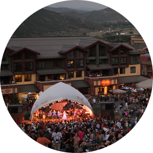 The Soulistics party, funk, soul, disco, Motown and top 20 band of Salt Lake City, Utah performing at The Canyons Resort in Park City